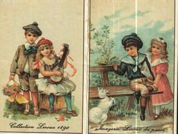 Petit Calendrier   1990      Chicorée LEROUX   Couple Enfants   Image Du Passé - Small : 1981-90