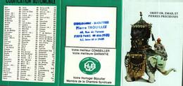 Petit Calendrier   1985        Objet Or, Email Et Pierres Précieuses  Epoque 18e Siècle - Small : 1981-90