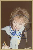 Petula Clark - Photo Originale Signée - 1977 - Coll. Michel Clare - Autographs