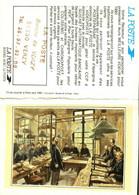 Petit Calendrier   1990        Tri Du Courrier à Paris Vers 1880     La Poste à VERZY  51 - Small : 1981-90