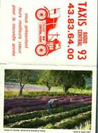 Petit Calendrier   1990      Coupe à La Faucille De La Lavande Dans La Drôme - Small : 1981-90