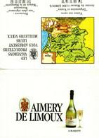 Petit Calendrier   1990      AIMERY DE LIMOUX  LA BLANQUETTE - Small : 1981-90