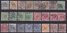 Deutsches Reich 1889 - Mi.Nr. 45 - 50 - Gestempelt Used - Undurchsuchtes Lot Für Spezialisten - Usados