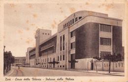 """013090 """"BARI - CORSO DELLA VITTORIA - PALAZZO DELLA MILIZIA"""" ANIMATA, ARCH. '900.  CART NON SPED - Bari"""