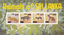 SRI LANKA - Animaux Du Sri Lanka - BF Mi. Bl 14 - MNH - Sri Lanka (Ceylon) (1948-...)