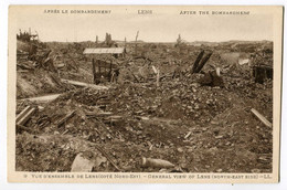 CPA 62 LENS Bombardements (guerre 1914) - Lens