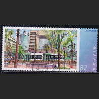 Japan Personalized Stamp, Train(jpv3510) Used - Used Stamps