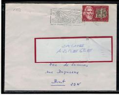 YT   1552   SSL/FR   OBL FLAMME METZERAL HAUT RHIN 16/9/68 ETE HIVER AIR ET MONTAGNE - 1961-....