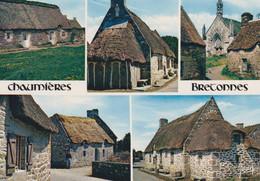 BRETAGNE Chaumières Bretonnes 5 Vues - Bretagne