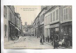 21 - MONTBARD ( Côte-d' Or ) - Rue De La Liberté. Carte Animée - Montbard