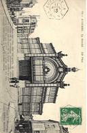 1913- C P A D'Auxerre ( Yonne ) Le Marché Affr. 5 C Semeuse Oblit. Cad Hexag. Plein  AUXERRE - A  / YONNE - 1877-1920: Periodo Semi Moderno