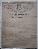 LOUVAIN 1876 - L'ANCIENNE FONDERIE DE CLOCHES DE A.L.J. VAN AERSCHOOT AINE - RUE DE NAMUR 125 A LOUVAIN - 1800 – 1899