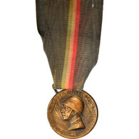 Italie, Guerra Per L'Unita D'Italia, Médaille, 1915-1918, Good Quality, Bronze - Autres