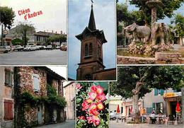 26 - Cléon D'Andran - Multivues - Automobiles - Fleurs - CPM - Voir Scans Recto-Verso - Other Municipalities