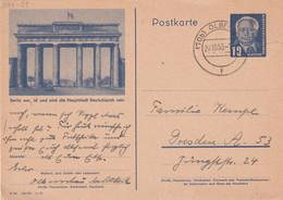 DDR 1950    ENTIER POSTAL/GANZSACHE/POSTAL STATIONERY CARTE ILLUSTREE DE OLBERNHAU - Postkarten - Gebraucht