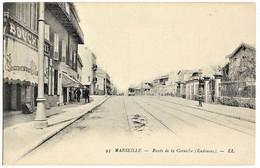 13 BDR MARSEILLE Route De La Corniche Endoume Boucherie Le Tramway Petit Plan   TBE N'a Pas Circulé - Altri