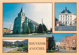 62 - Auchel - Multivues - Automobiles - Flamme Postale De Auchel - CPM - Voir Scans Recto-Verso - Altri Comuni