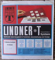 Lindner - Feuilles NEUTRES LINDNER-T REF. 802 505 P (5 Bandes) (paquet De 10) - A Nastro