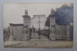 Allemagne Carte Photo Meschede Lagen Camp De Poilus Prisonniers Entrée Du Cimetiére WW1 1914/1918 Deuxiéme Carte - Guerra 1914-18