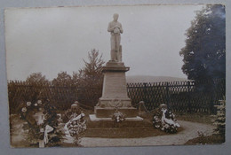 Allemagne Carte Photo Meschede Lagen Camp De Poilus Prisonniers Monument Du Cimetiére WW1 1914/1918 - Guerra 1914-18
