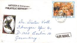 ANTIGUA & BARBUDA - REGISTERED MAIL AIR 1993 > BERLIN/DE / PR67 - Antigua Y Barbuda (1981-...)