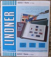 Lindner - Feuilles NEUTRES LINDNER-T REF. 802 503 P (5 Bandes) (paquet De 10) - A Nastro