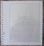 Lindner - Feuilles NEUTRES LINDNER-T REF. 802 503 (5 Bandes) (1) - A Nastro