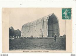 AVIATION MANOEUVRES DE PICARDIE HANGAR A DIRIGEABLES - Luchtschepen