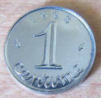 France - Monnaie 1 Centime Epi 1993 - SUP / SPL - A. 1 Centesimo