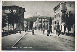 Trento - Via GAZZOLETTI - 1943 - Trento