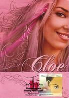 1A :  Carte Maximum Card Malaysia Beautiful Lady Eye Vision Miss.cloe - Otros