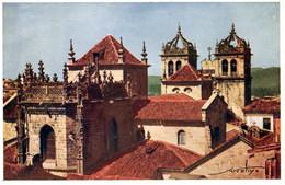 BRAGA - Torres E Telhados Da Sé - PORTUGAL - Braga