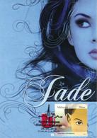 1A :  Carte Maximum Card Malaysia Beautiful Lady Eye Vision Miss.Jade - Otros