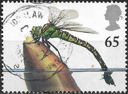 GREAT BRITAIN 2001 Europa. Pond Life -  65p - Southern Hawker Dragonfly FU - Gebraucht