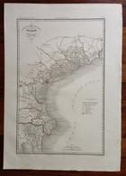 Zuccagni Orlandini Acquaforte Originale 1840 Atlante Geografico Pianta Venezia - Stampe & Incisioni