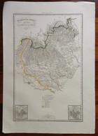 Zuccagni Orlandini Acquaforte Originale 1840 Atlante Geografico Venezia Verona - Stampe & Incisioni