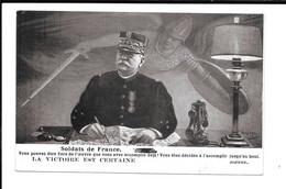 JOFFRE - LA VICTOIRE EST CERTAINE - Guerra 1914-18