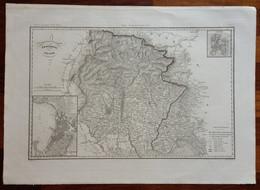 Zuccagni Orlandini Acquaforte Originale 1840 Atlante Geografico Udine - Stampe & Incisioni