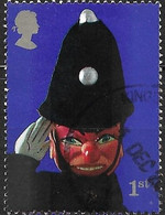 GREAT BRITAIN 2001 Punch And Judy Show Puppets - (1st) - Policeman FU - Gebraucht