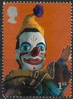GREAT BRITAIN 2001 Punch And Judy Show Puppets - (1st) - Clown FU - Gebraucht