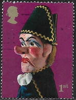 GREAT BRITAIN 2001 Punch And Judy Show Puppets - (1st) - Beadle FU - Gebraucht