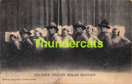 CPA CIRQUE CIRCUS CELEBRE TROUPE BELGE BASTIEN - Circus
