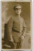 Foto AK 1.WK Angehöriger Marine-Infanterie Seebataillon Feldgrau Säbel #196 - Guerra 1914-18