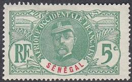 Senegal, Scott #60, Mint Hinged, General Louis Faidherbe, Issued 1906 - Neufs