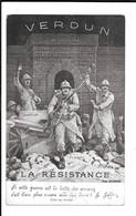 JOFFRE - VERDUN - LA RESISTANCE - Guerra 1914-18