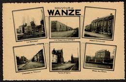 Souvenir De Wanze - Multi-vues - Casernes D'Antheit / Chée De Tirlemont / Mess Des Officiers .. - Voir Scans - Wanze