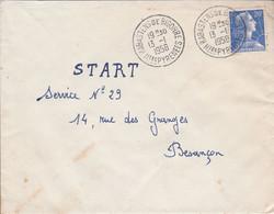 LETTRE DE RABASTENS DE BIGORRE HAUTES PYRENEES 1958 - 1921-1960: Moderne