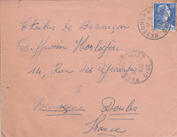 LETTRE DE RESSONS SUR MATZ OISE 1958 - 1921-1960: Moderne