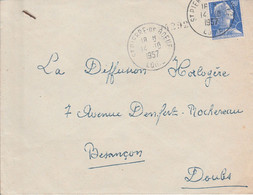 LETTRE DE SAINT PIERRE DE BOEUF LOIRE 1957 - 1921-1960: Moderne