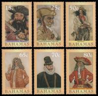 Bahamas 2003 - Mi-Nr. 1135-1140 ** - MNH - Piraten / Pirates - Bahama's (1973-...)